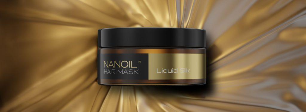 nanoil with liquid silk hair mask